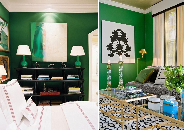 Esmeralda el color del a o 2013 estilo y dise o for Colores para living comedor