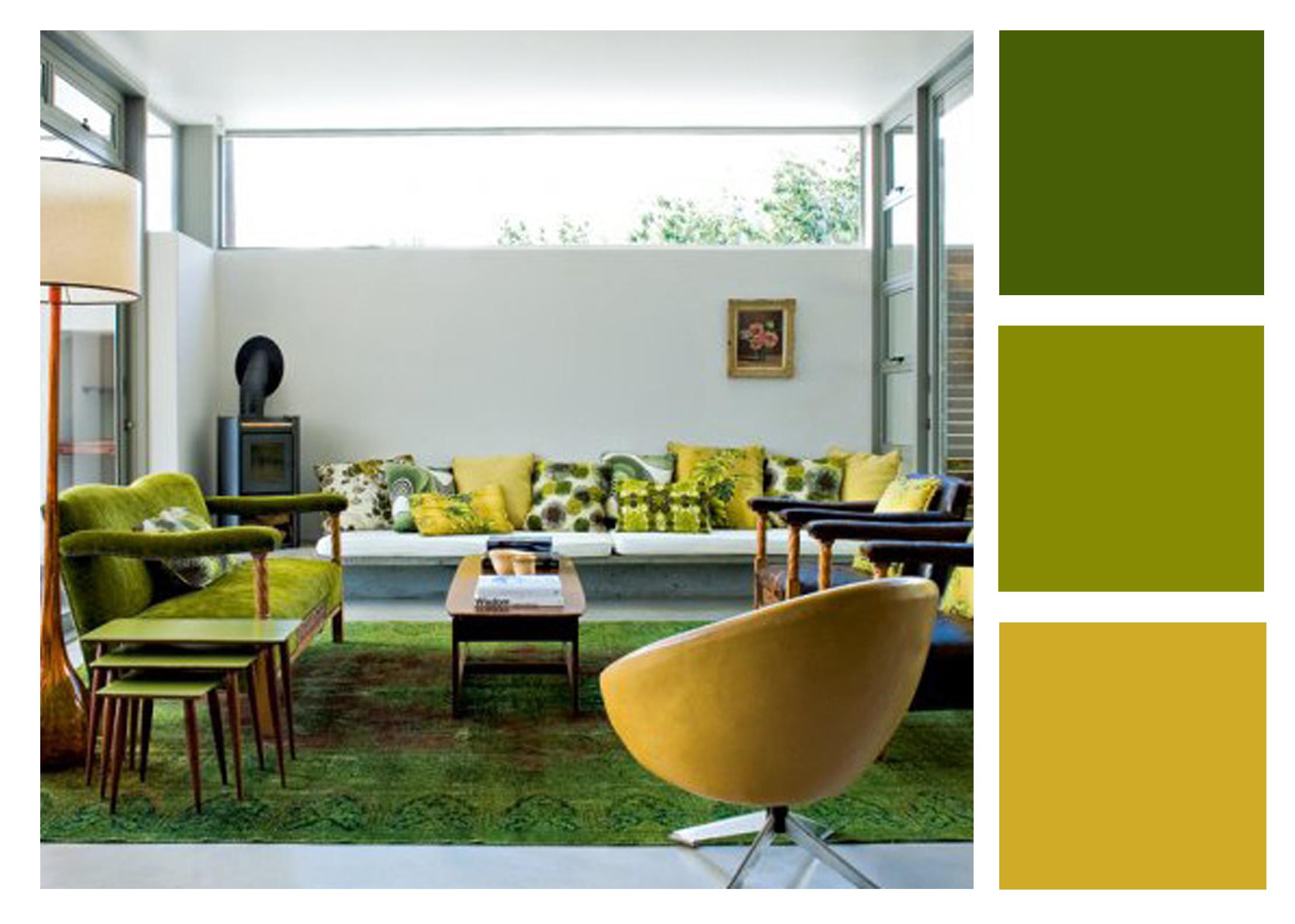 Colores analogos en interiores estilo y dise o - Colores calidos para interiores ...
