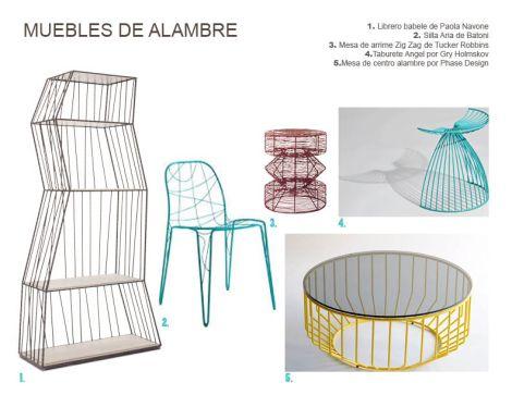 Muebles de Alambre
